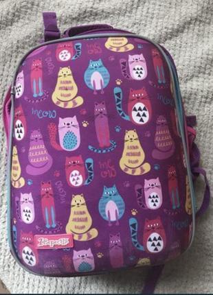 Школьный каркасный рюкзак 1 вересня
