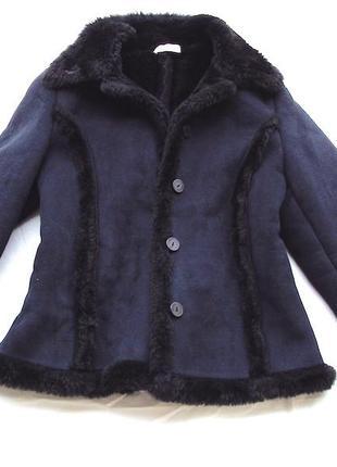 Куртка супер черная denny rosse, размер с , оригинал