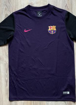 Мужская тренировочная футбольная джерси nike barcelona fc raining jersey nike