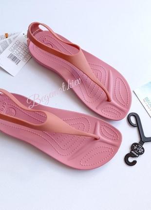 Сандалии женские босоножки crocs women sexi flip 36-41 размер