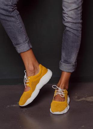 Женские замшевые кроссовки, жіночі замшеві кросівки4 фото