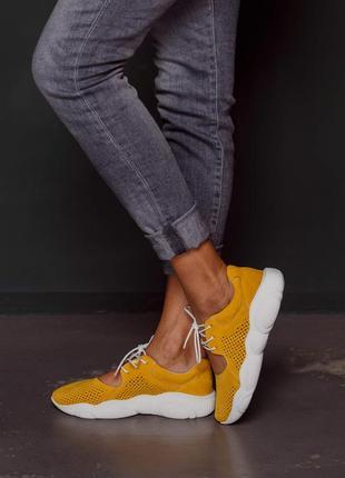Женские замшевые кроссовки, жіночі замшеві кросівки5 фото