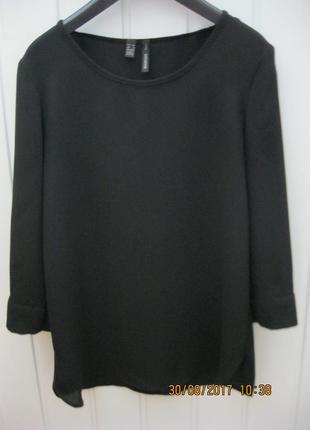 Струящаяся блузка mango из крепа3