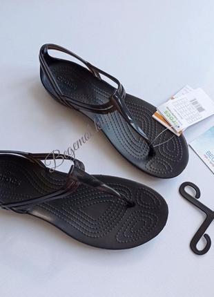 Женские сандалии босоножки crocs isabella t strap sandal 36-40р