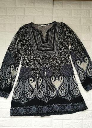 Шикарное платье туника в бохо стиле