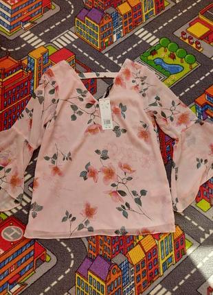 Новая блуза в цветах