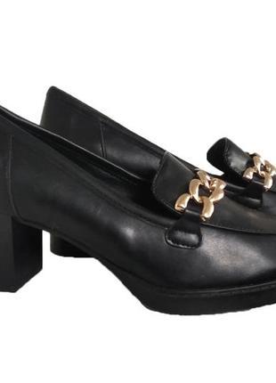 Модные туфельки на устойчивом каблуке от graceland