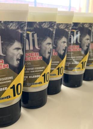 Гель для фиксации волос taft super kleber 103 фото