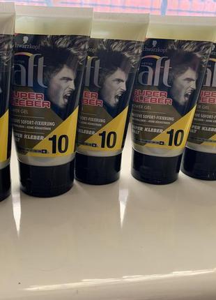 Гель для фиксации волос taft super kleber 104 фото