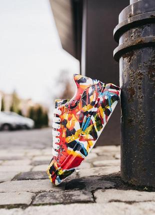 🌷🏵️alexander mcqueen custom graffiti ❤️🏵️😍женские кроссовки александр маквин