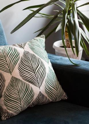 Наволочки до декоративних подушок в еко стилі