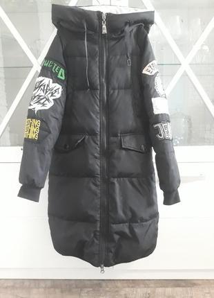 Очень крутое зимнее пальто! покупала за 100$