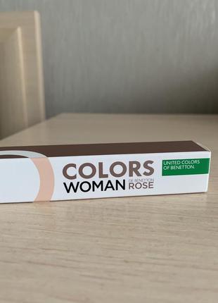 Туалетная вода colors de benetton rose 10 мл