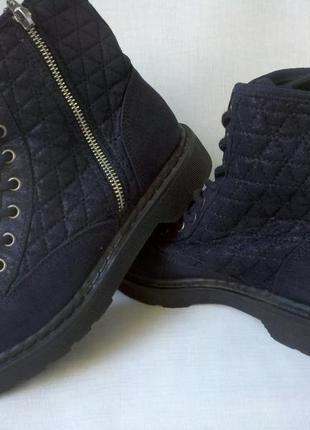 Брендовые демисезонные ботинки catwalk