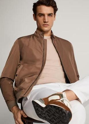 Куртка мужская бомбер massimo dutti