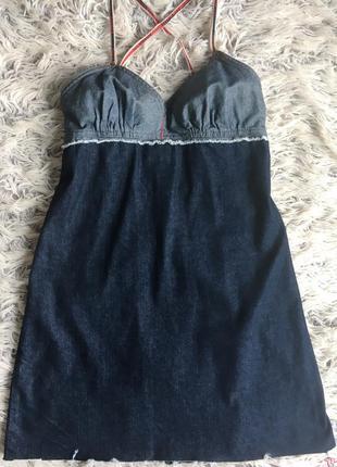 Джинсовый сарафан / платье roxy