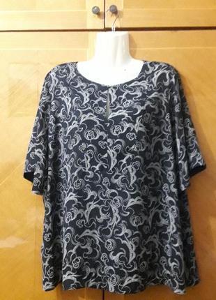 M & s р.22  стильная  нарядная блуза