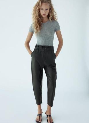 Весенние брюки багги.