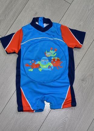 Плавательный костюм пляжный костюм на 1-2 года zoggs