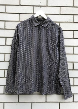 Рубашка,блуза в цветочный принт marco polo оригинал