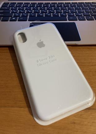 Чехол на iphone xr  silicone case