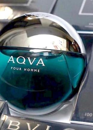 Bvlgari aqva pour homme оригинал_eau de toilette 7 мл затест_туал.вода