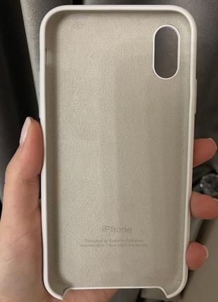 Силіконовий чехол на iphone xr оригінал!3 фото