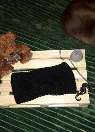 Повязка  - чалма. шикарного чорного кольору 💣💣💣