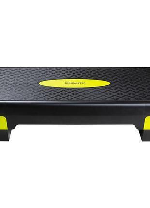 Степ-платформа ironmaster l68*w28*h10/15cm.