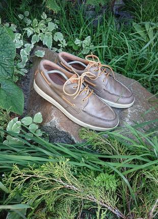 Туфли лоферы мокасины экко ecco 44-45 р 29 cm