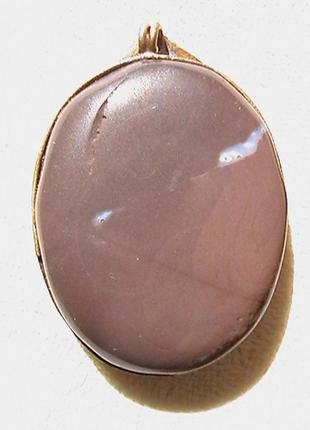Кулон с натуральным камнем.