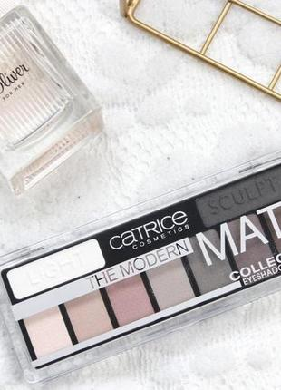 Тіні для повік the modern matt collection eyeshadow palette catrice