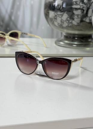 Стильный солнцезащитные очки окуляри тренд круглые
