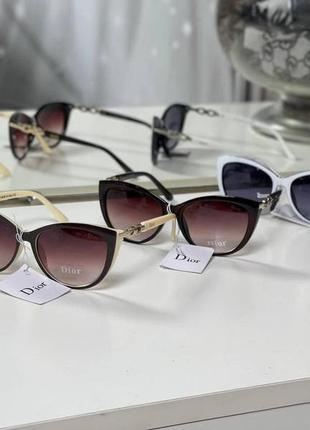 Солнцезащитные стильные очки окуляри аксессуар тренд