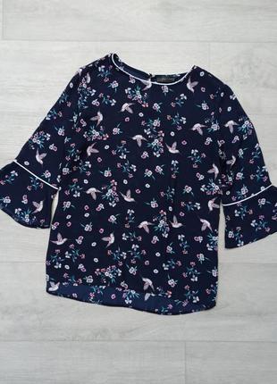 Блуза в птички