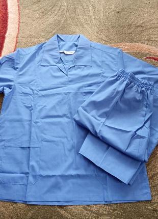 Костюм хирургический мужской,костюм медицинский,костюм массажиста