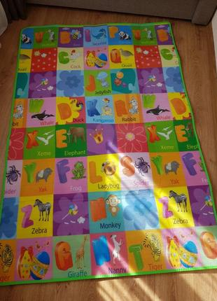 Детский коврик, двусторонний термоковрик