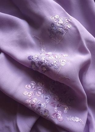 Красивая блуза с вышивкой большого размера marks&spencer