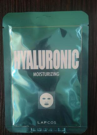 Lapcos тканевая маска с гиалуроновой кислотой