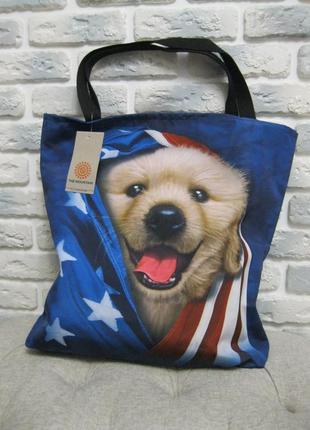 Большая сумка  для покупок /на пляж /на природу /на роботу