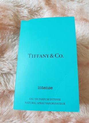 Tiffany & co.  оригинальный пробник с распылителем 1.2 мл