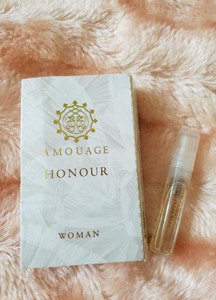 Amouage honour оригинальный пробник распылителем 1.5 мл