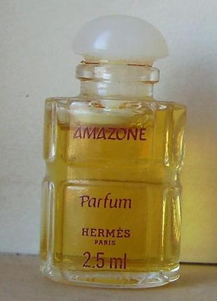 Hermes amazone - parfum (духи) - 2.5 мл. орігінал. вінтаж