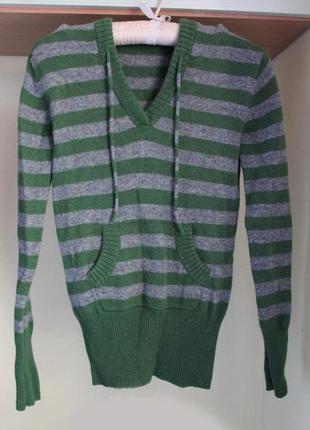 Шерстяной пуловер montego