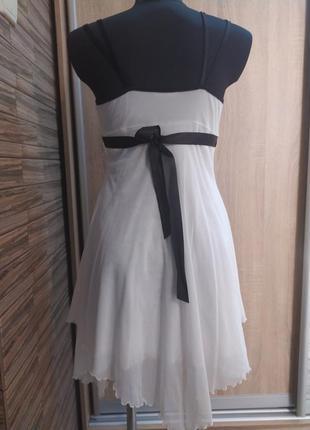 Нарядное шифоновое платье jane norman_xs,s(6),34,36 размер3 фото
