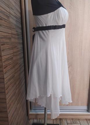 Нарядное шифоновое платье jane norman_xs,s(6),34,36 размер4 фото