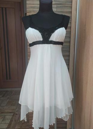 Нарядное шифоновое платье jane norman_xs,s(6),34,36 размер
