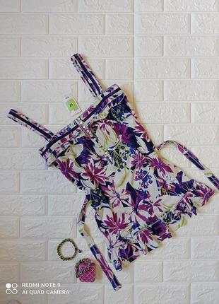 Блузка в цветочный принт marks &spencer