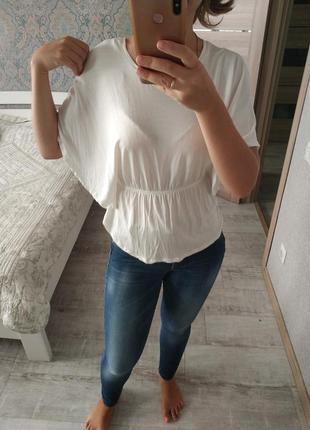 Красивая легкая вискозная блуза