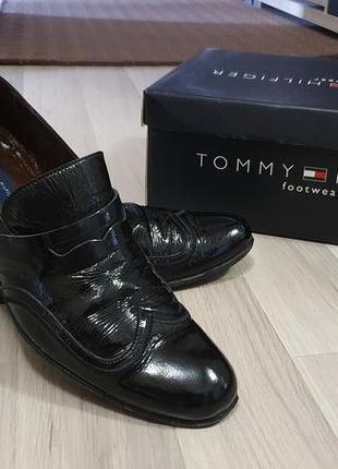 Туфлі tommy hilfiger 100% шкіра